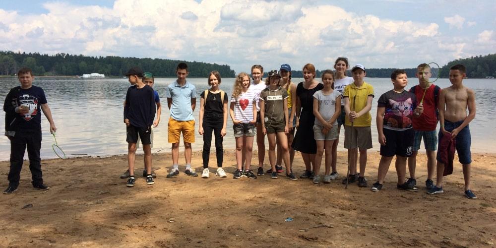 детский оздоровительный лагерь вблизи Федюково