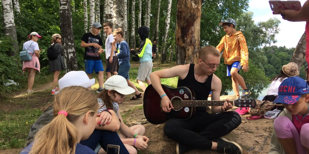летний лагерь для детей вблизи Федюково